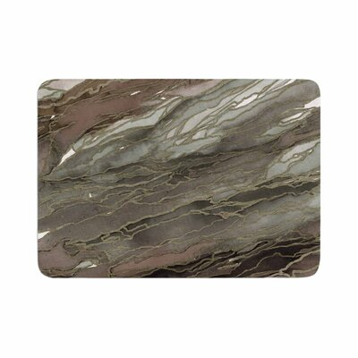 Ebi Emporium Agate Magic, Elegance 1 Watercolor Memory Foam Bath Rug Size: 0.5 H x 24 W x 36 D
