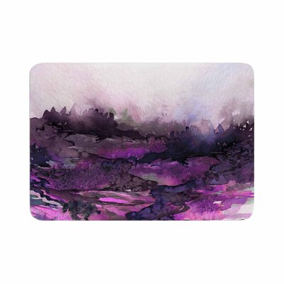 Ebi Emporium the Long Road 5 Watercolor Memory Foam Bath Rug Size: 0.5 H x 17 W x 24 D