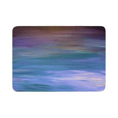 Ebi Emporium Resonance 1 Painting Memory Foam Bath Rug Size: 0.5