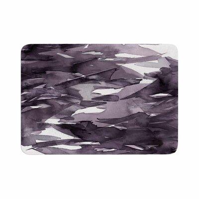 Ebi Emporium Fervor 9 Watercolor Memory Foam Bath Rug Size: 0.5 H x 17 W x 24 D