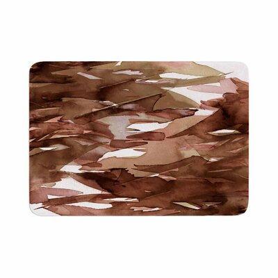 Ebi Emporium Fervor 7 Watercolor Memory Foam Bath Rug Size: 0.5 H x 17 W x 24 D