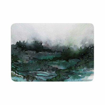 Ebi Emporium the Long Road 2 Watercolor Memory Foam Bath Rug Size: 0.5 H x 24 W x 36 D