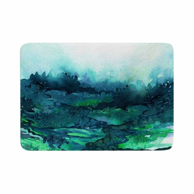 Ebi Emporium the Long Road 7 Watercolor Memory Foam Bath Rug Size: 0.5 H x 17 W x 24 D