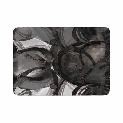 Ebi Emporium the Final Eclipse Painting Memory Foam Bath Rug Size: 0.5 H x 17 W x 24 D