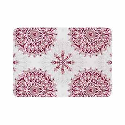 Julia Grifol Geometric Mandalas Memory Foam Bath Rug Size: 0.5 H x 24 W x 36 D