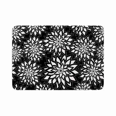 Julia Grifol and Garden Digital Vector Memory Foam Bath Rug Size: 0.5 H x 24 W x 36 D
