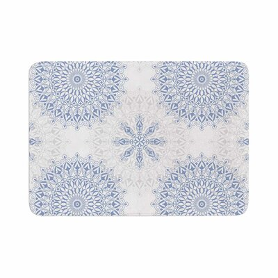 Julia Grifol Mandalas in Vector Geometric Memory Foam Bath Rug