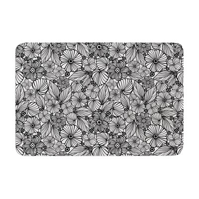 Julia Grifol Candy Flowers Memory Foam Bath Rug Size: 0.5