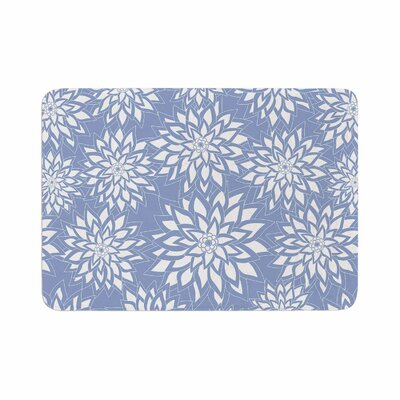 Julia Grifol Garden Memory Foam Bath Rug Size: 0.5 H x 24 W x 36 D
