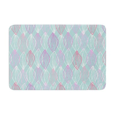 Julia Grifol My Leaves Memory Foam Bath Rug Size: 0.5 H x 17 W x 24 D