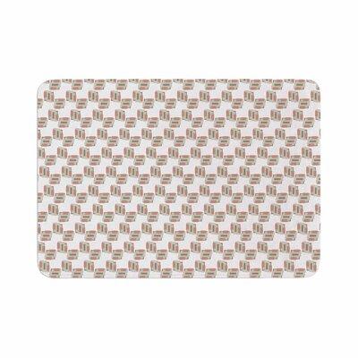 Juliana Motzko Geo 2 Memory Foam Bath Rug Size: 0.5 H x 17 W x 24 D