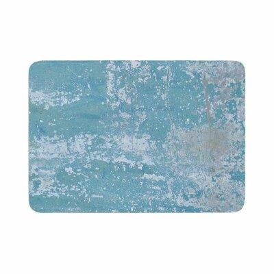 Jennifer Rizzo Galvanized Vintage Memory Foam Bath Rug Size: 0.5 H x 24 W x 36 D