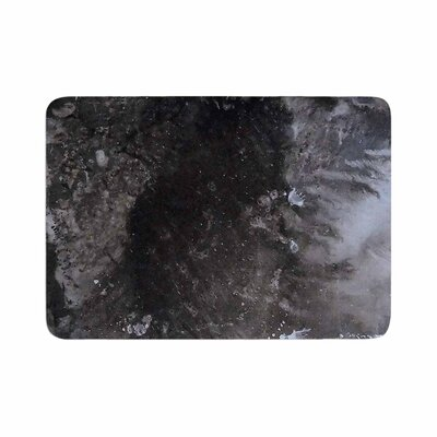 Abstract Anarchy Design Crepuscular Nebula Memory Foam Bath Rug Size: 0.5 H x 24 W x 36 D