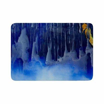 Josh Serafin You and Me Memory Foam Bath Rug Size: 0.5 H x 17 W x 24 D