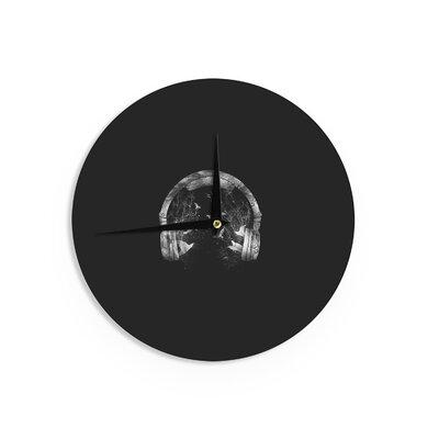 """BarmalisiRTB 'Headphone' 12"""" Wall Clock EAAH7208 38577732"""