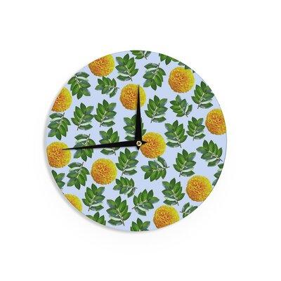 "Sreetama Ray 'More Marigold' 12"" Wall Clock EAAH7353 38577889"