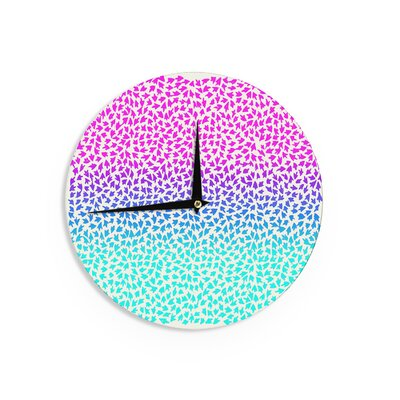 "Sreetama Ray 'Ombre Arrows' 12"" Wall Clock EAAH7356 38577892"
