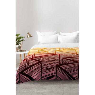 Mystic Stripes Comforter Set Size: Full/Queen
