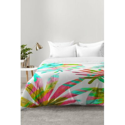 Paradise Palm Comforter Set Size: Full/Queen