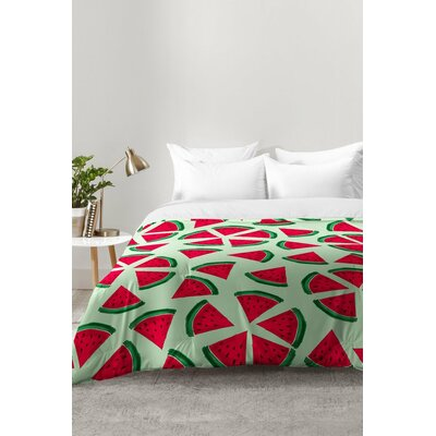 Melon Choly Fruit Salad Comforter Set Size: King
