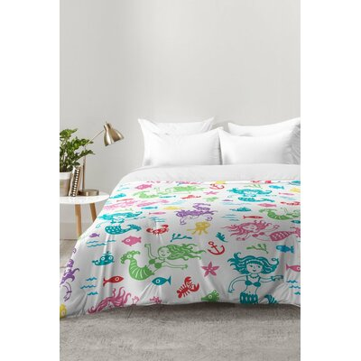 Merry Mermaids Comforter Set Size: Twin XL