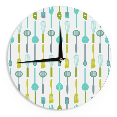 "afe images 'Kitchen Utensils' 12"" Wall Clock EAAH2149 38572315"