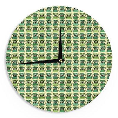 """Holly Helgeson 'Vintage Telephone' 12"""" Wall Clock EAAH1360 38571526"""
