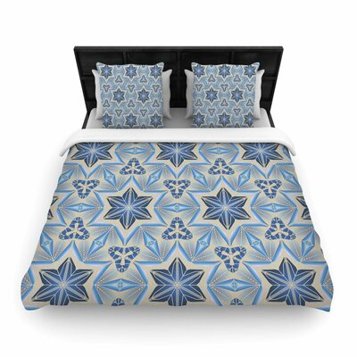 Angelo Cerantola Astral Woven Duvet Cover Size: King