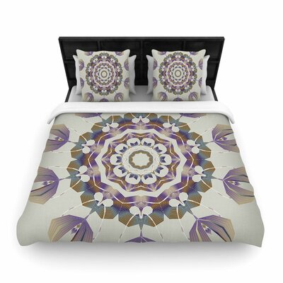 Angelo Carantola Reach Out Woven Duvet Cover Size: King