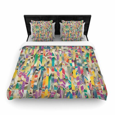 Angelo Cerantola Feel It Woven Duvet Cover Size: King