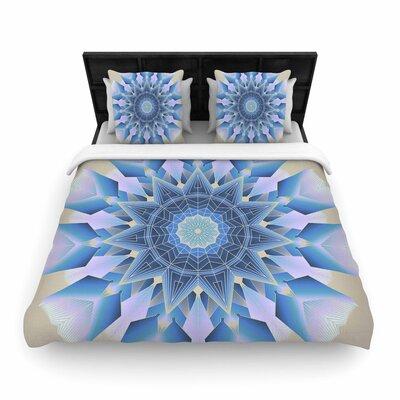 Angelo Cerantola Desire Modern Woven Duvet Cover Size: King