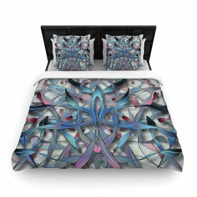 Angelo Cerantola Wax and Wayne Digital Woven Duvet Cover Size: Full/Queen
