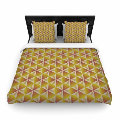 Angelo Cerantola Honey Woven Duvet Cover Size: King