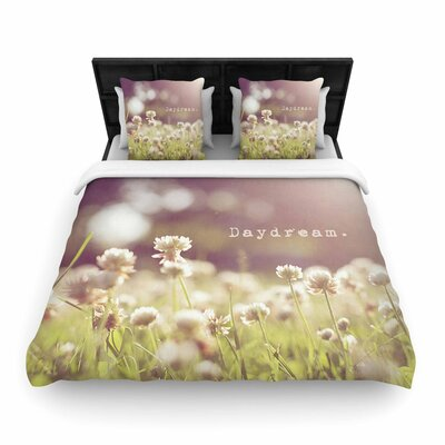 Angie Turner Daydream Floral Woven Duvet Cover Size: Twin