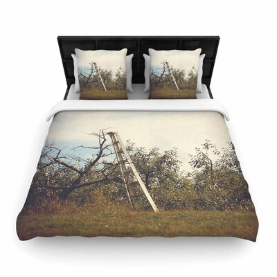 Angie Turner Apple Picking Photography Woven Duvet Cover Size: King