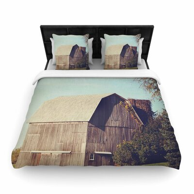 Angie Turner Gray Barn Woven Duvet Cover Size: Full/Queen