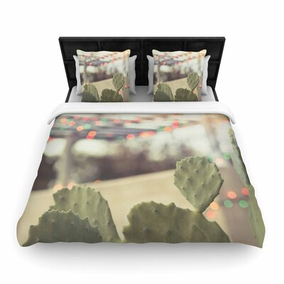 Ann Barnes Austin Summer Party Woven Duvet Cover