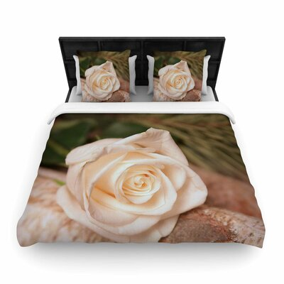 Angie Turner Rustic Romance Woven Duvet Cover Size: King