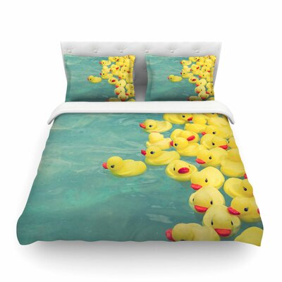 Ann Barnes Escaping Normal Featherweight Duvet Cover Size: Twin