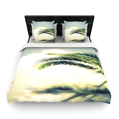 Ann Barnes 'Summer Breeze' Photography Woven Duvet Cover Size: Full/Queen