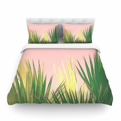 Ann Barnes Neon Jungle II Photography Featherweight Duvet Cover Size: King