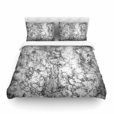 Ann Barnes Marble I Featherweight Duvet Cover Size: Twin