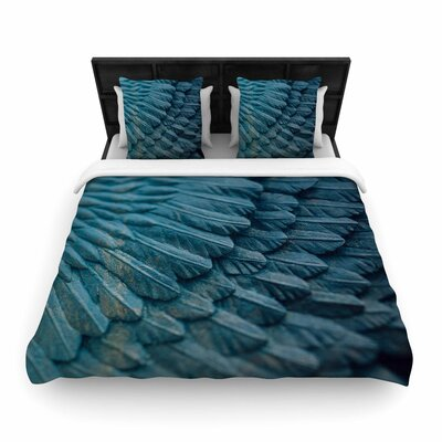 Ann Barnes Ombre Angel Celestial Woven Duvet Cover Size: Full/Queen