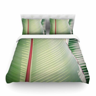 Ann Barnes Sage + Red Photography Featherweight Duvet Cover Size: King