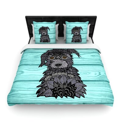 Art Love Passion Little Miss Daisy Woven Duvet Cover