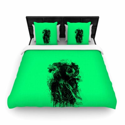 BarmalisiRTB Gasmask Abstract Woven Duvet Cover