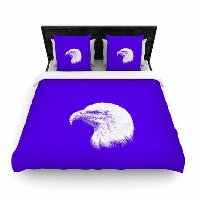 Blind and Silent Woven Duvet Cover Size: King