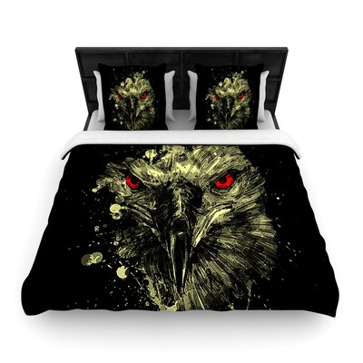 Eagle Woven Duvet Cover Size: King