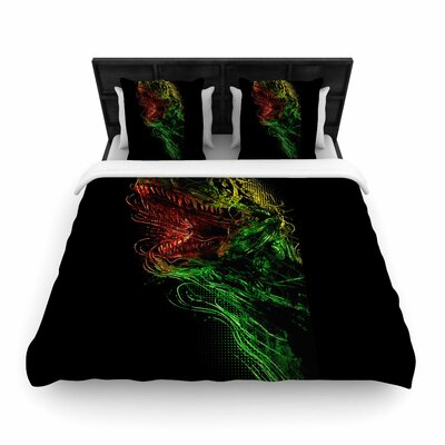 Killing Machine Woven Duvet Cover Size: King