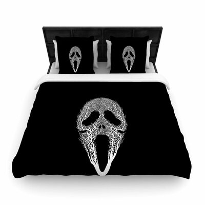 The Scream Tree Woven Duvet Cover Size: Full/Queen